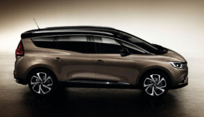 Renault Grand Scénic: 24 centimeter extra